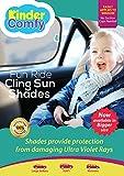 #3: #1 Car Sun Shade (SUVs & Minivans) 2 Pack - Black Sunshade Visor Set for Babies & Kids - Clings To Rear Side Window-Cooler Car Interior- Easy Installation - Blocks 98% of UV Rays-. Bonus Gifts