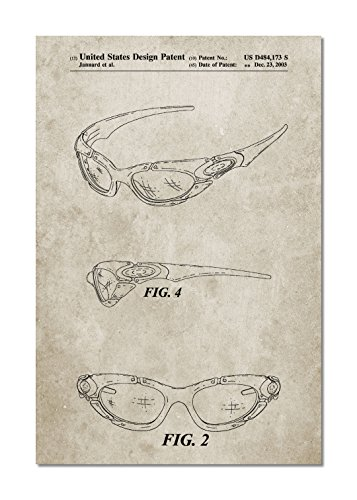 Sunglasses Patent Canvas - Sunglasses Museum