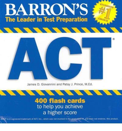 Act Flash Cards (Mixed media product) - Common