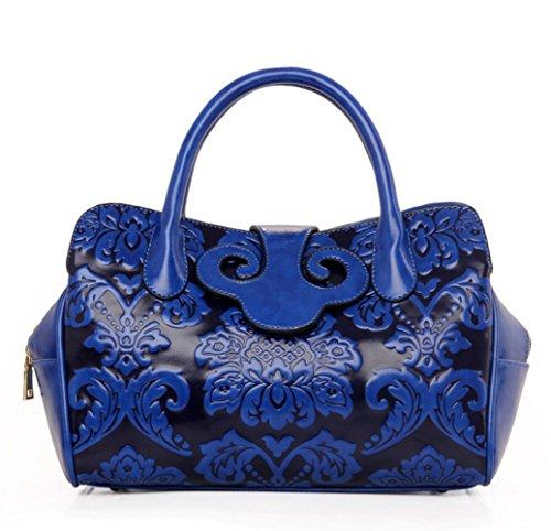Diagonale Pour Chinois Sac Style Blue Main Rétro Femme à Sac à Bandoulière DHFUD qnwxBtOq