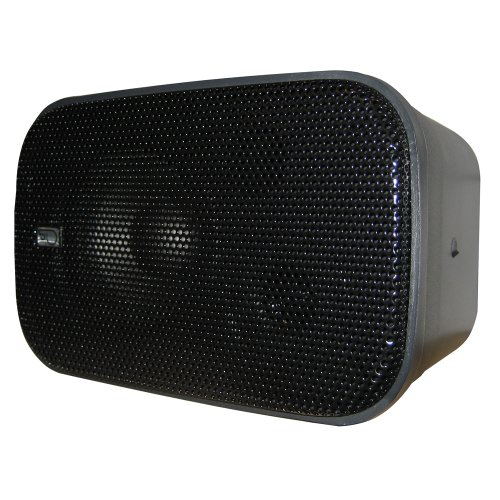 PolyPlanar Compact Box Speaker - (Pair) Black by Poly-Planar