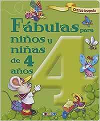 Fábulas para niños y niñas de 4 años (Crezco leyendo
