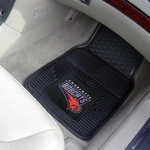 - Charlotte Bobcats Black 2-Piece Vinyl Car Mat Set