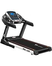 Power Max Fitness TDA-125 Treadmill, 115 kg - Black
