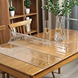 Clear Table Protector Plastic Table Cloths PVC