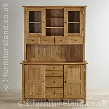 Solid Oak Welsh Dresser. Solid Oak Welsh Dresser  Amazon co uk  Kitchen   Home