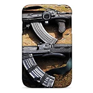 Faddish Phone Ak 47 Antigas Case For Galaxy S4 / Perfect Case Cover