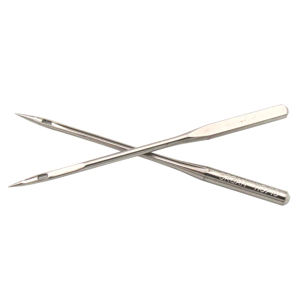 NECCHI,Brother + Pfaff JANOME RICCAR Organ Needle Organ-HAX1 Sewing Needles fit for Singer Organ-HAX1#9#11#12#14#16#18 60PCS