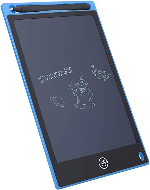 LCDライティングボード、厚い子供落書きボード手書き耐久性のある子供(blue)