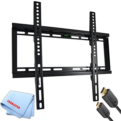 Low Profile Flat Screen TV Wall Mount for 23