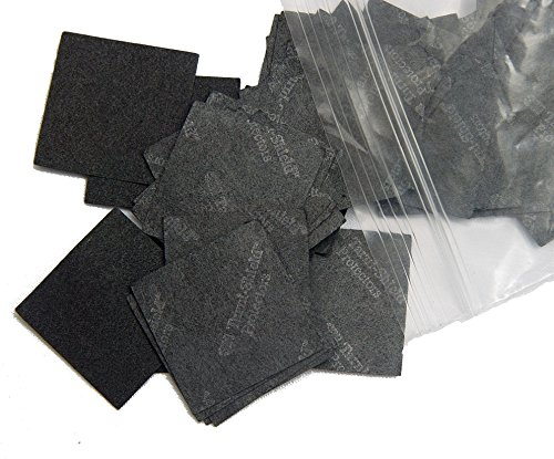 - 3M Anti-Tarnish Paper Tabs 1x1 Inch Square (100 Tabs)