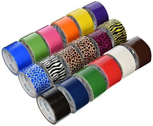 18 Roll Variety Pack of Bazic Print and Solid Colors  of All
