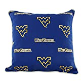 College Covers WVAODP West Virginia Mountaineers Outdoor Decorative Pillow, 16'' x 16'', Blue