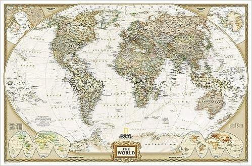 El Mundo Executive 125x186 Grande Inglés National Geographic ...