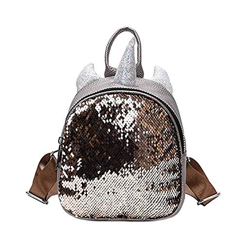 bdbc4c8b8d2d RARITYUS Women Girls Dazzling Sequins Backpack with Cute Ears ...