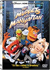 """Broadway bound, the Muppets take Manhattan by storm in this magical musical about breaking into show business! Fresh out of college, Kermit, Fozzie and the entire cast of Kermit's musical """"Manhattan Melodies"""" head for the Big Apple with plans..."""