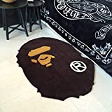GDpowerseller A Bathing Ape Bape Carpet Rug Monkey