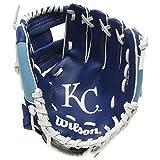 "Wilson A200 Kansas City Royals Glove, Left Hand, 10"", Royal/White"