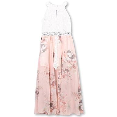 9a2b668f75c5 Speechless Girls' Big Printed Walk Through Romper Maxi Dress, Blush, ...