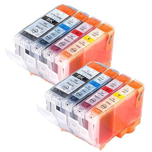 LiC-Store 8x (2 Big Black, 2 Cyan, 2 Magenta, 2 Yellow) Canon BCI-3 , BCI-3E , BCI-6 for Canon BJC-3000, BJC-6000, FAX-C855, MultiPASS F30, MultiPASS F50, MultiPASS F60, MultiPASS F80, -