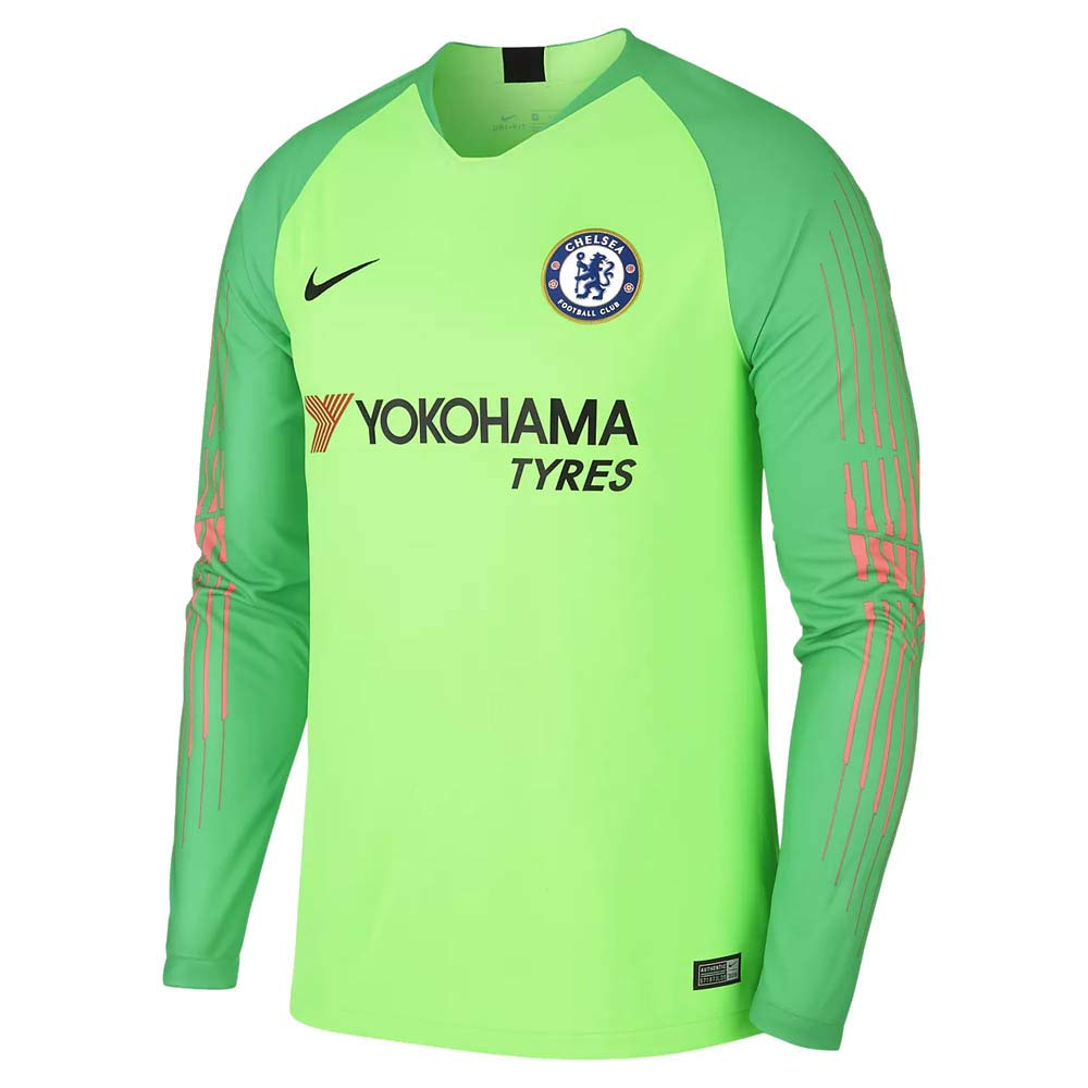 sneakers for cheap 11df1 f58f1 Amazon.com : Nike 2018-2019 Chelsea Home Goalkeeper Football ...