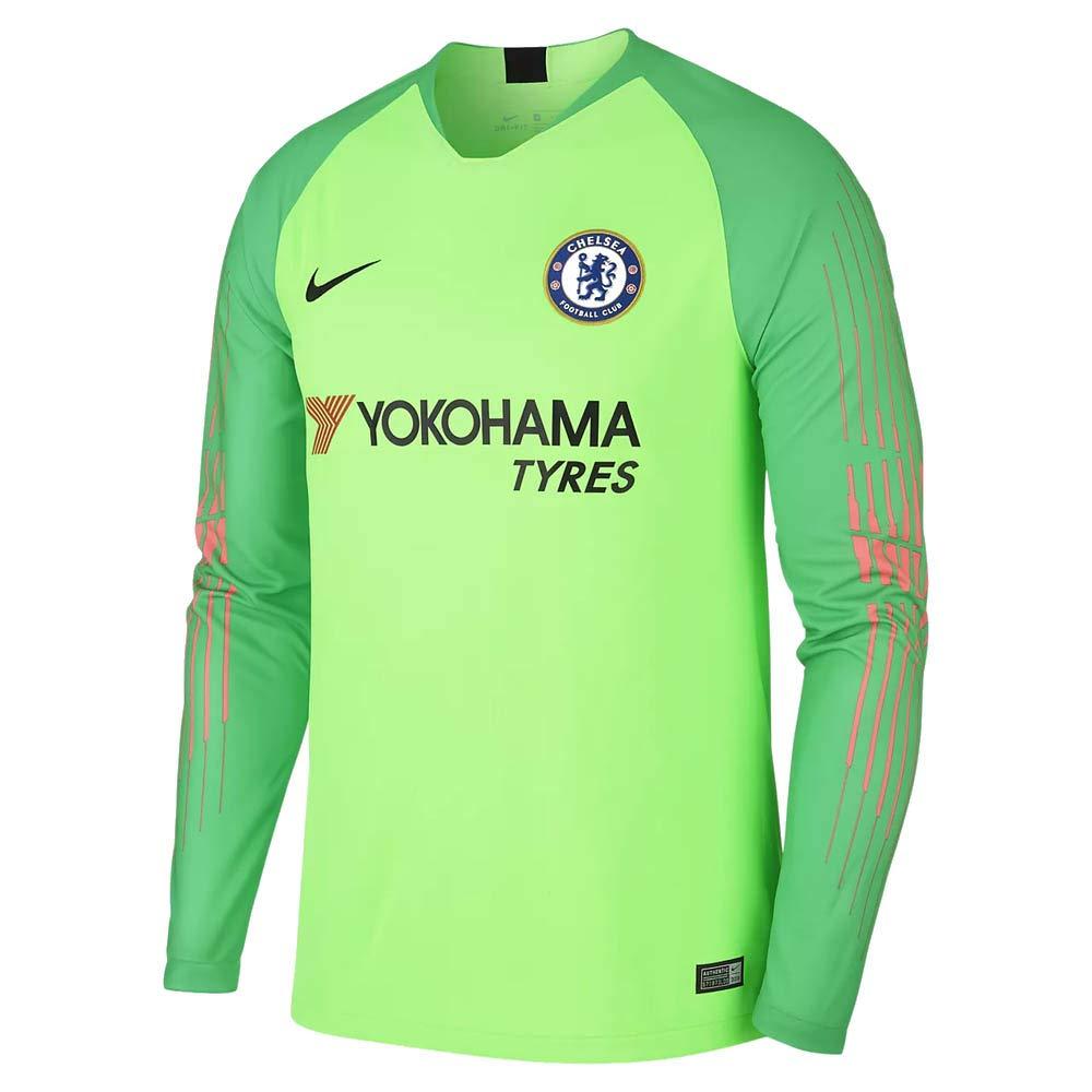 sneakers for cheap 7dbd3 5aa1f Amazon.com : Nike 2018-2019 Chelsea Home Goalkeeper Football ...