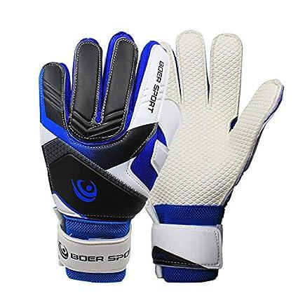 593b80f73 Roverstarshop 7-9 Size Kids Youth Adult Football Soccer Goalkeeper Goalie  Training Gloves Gear Protector