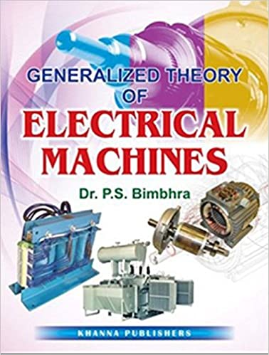 generalized theory of electrical machines bimbhra pdf download