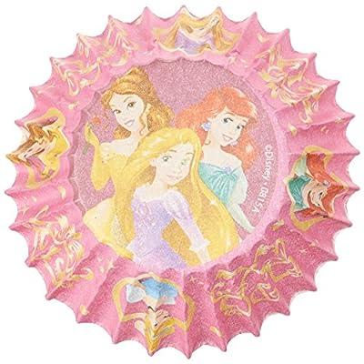 Disney Princess Cupcake Mini Baking 100 Cups Paper: Toys & Games