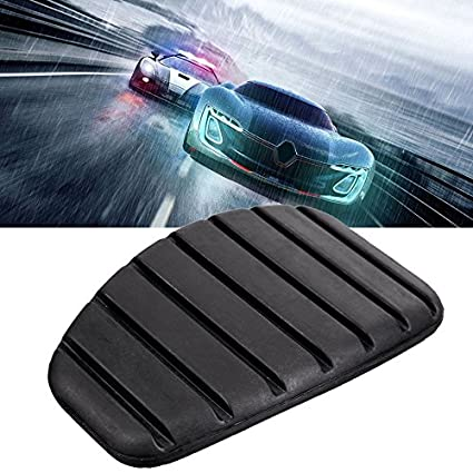 Amazon.com: Baynne 1PC Rubber Clutch Brake Pedal Pad for Renault Non Slip Brake Pedal Plate(Color:Black): Garden & Outdoor