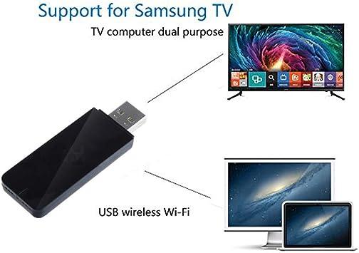 Adaptador WiFi inalámbrico USB para TV LAN para Samsung Smart TV, 802.11a/b/g/n 2,4 GHz WLAN, Compatible con WIS12ABGNX WIS09ABGN: Amazon.es: Electrónica
