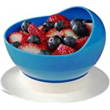 Ableware 745340000 Scooper Bowl with Suction Cup Base, Blue
