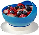 Maddak Scooper Bowl with Suction Cup Base, Blue (745340000) (745340000)