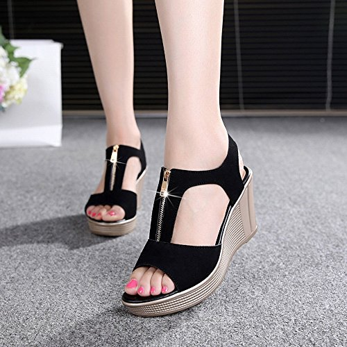 Fish Slope 40 A Sandals with Shoes HH Rome Mouth High Large Yards 43 Summer Waterproof Heeled Size IwYYga47