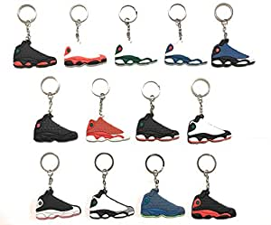 Amazon.com: Zapatillas Llaveros AJ-13 Retro: Automotive