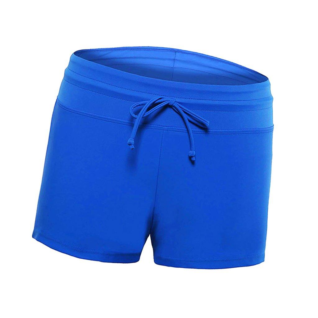 Baoblaze Damen UV Schutz Wassersport Schwimmen Bikinihose Badeshorts Schwimmshorts Boardshorts Bikinishorts Strandshorts Hotpants