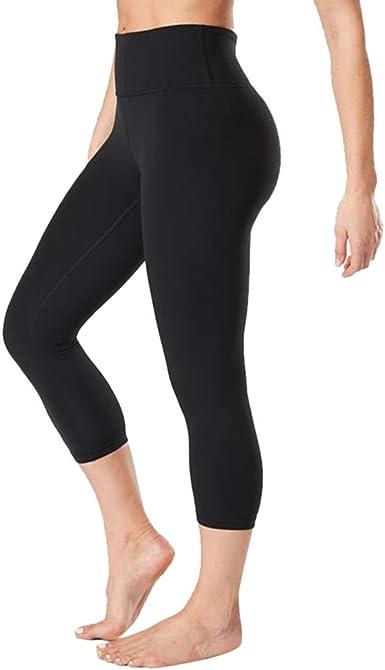 Black High Waisted Capri Pants