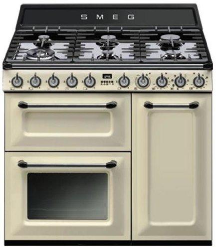 Smeg TR93P - Cocina (Cocina independiente, Crema de color ...