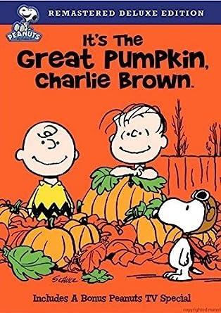 Amazon.com: It's the Great Pumpkin Charlie Brown: Melendez, Bill, Robbins,  Peter, Shea, Chris, Dryer, Sally, Steinberg, Cathy: Movies & TV