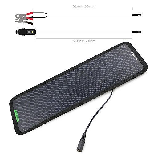 Allpowers V W Portable Solar Car Battery Charger Amazon