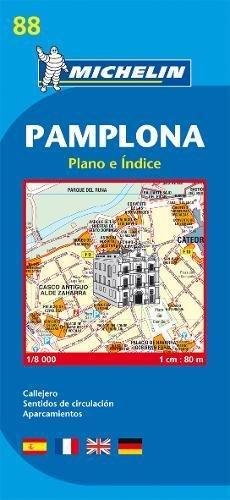 Plano Plegable Pamplona. Plano E Índice: Plano E Indice (Planos Michelin)