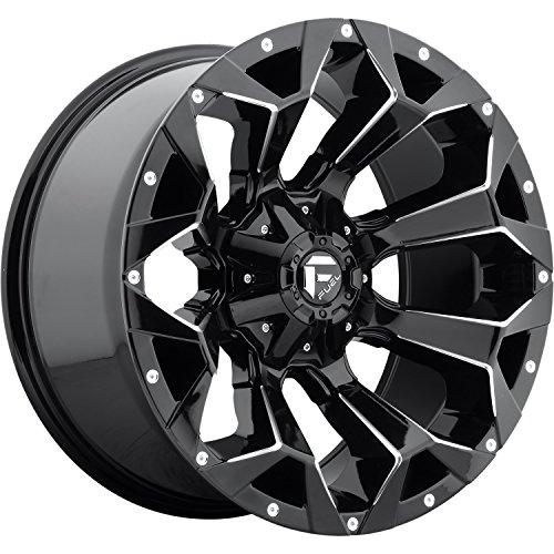 FUEL Assault D576 Black Gloss 20x10 6x135 6x5.5 Wheel Rim Partnumber -