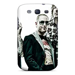 Shock Absorption Cell-phone Hard Covers For Samsung Galaxy S3 (GbN14390XvbK) Support Personal Customs Vivid Papa Roach Pictures