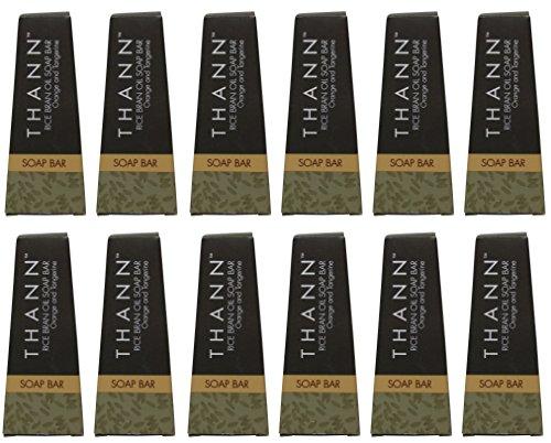 Thann Rice Bran Oil Soap lot of 12ea 1.3oz Bars. Total of 15.6oz