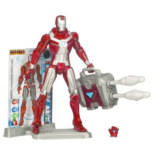 Marvel Iron Man 2 Movie Figure Iron Man Mark V #11 (Iron Man 2 Mark V Action Figure)