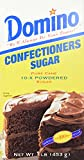 Domino Pure Cane Confectioners Powdered Sugar, 1 lb