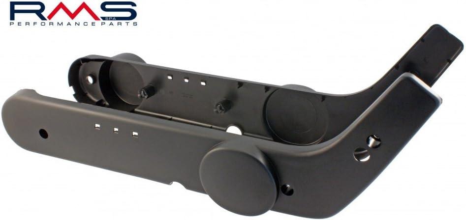 Piaggio Vespa Ciao Motor Seiten Verkleidung Deckel Abdeckung Emblem Paar schwarz