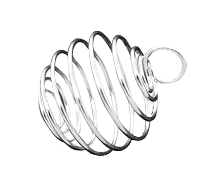 Amazon Com Housweety 40 Pcs Silver Plated Bead Cages Pendants