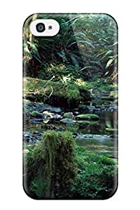 Ultra Slim Fit Hard TurnerFisher Case Cover Specially Made For Iphone 6 plus 5.5- Tropical Rainforest