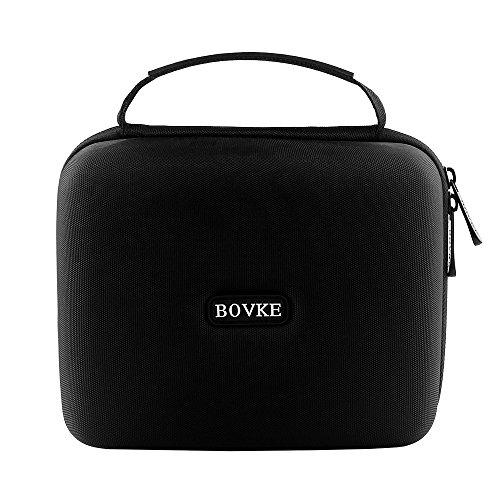 BOVKE Protective Case for Seagate Expansion Desktop,Western Digital WD My Book/Elements Desktop External Hard Drive USB 3.0,2TB 3TB 4TB 5TB 6TB 8TB Carrying Case Storage Travel Bag, Black by BOVKE (Image #6)